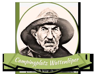 Wattenlöper Logo Camping in Cuxhaven
