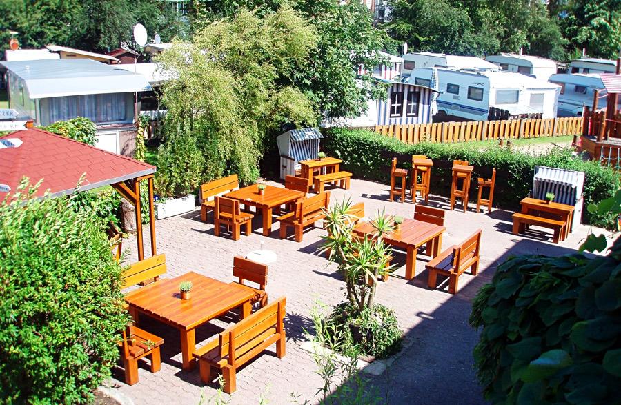 Camping Cuxhaven Café, Restaurant und Biergarten